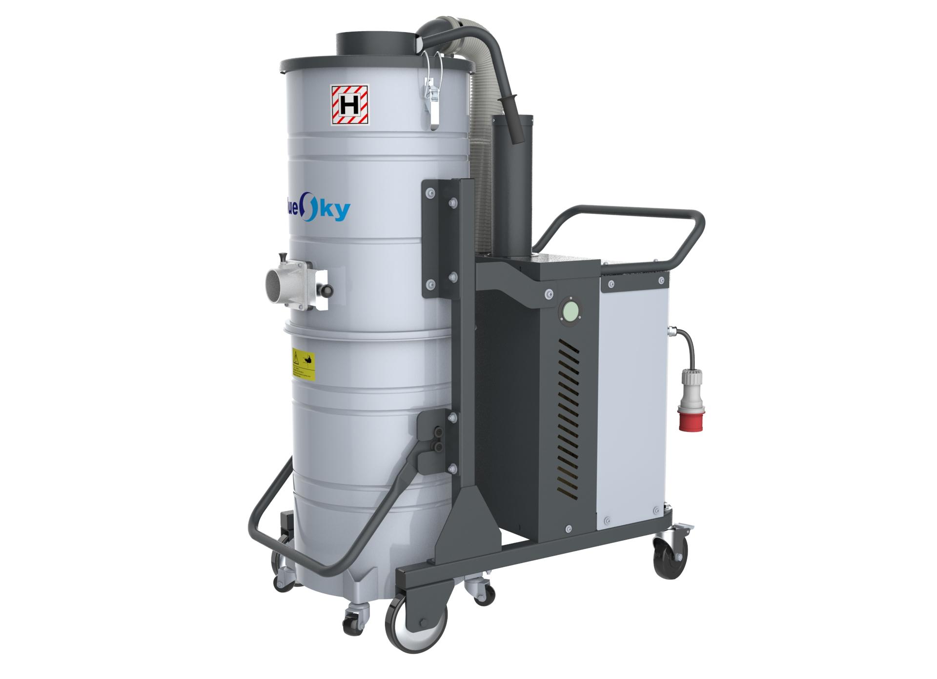 380V大量灰尘吸尘器